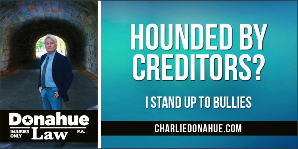 New Billboard of attorney Charlie Donahue up in Troy NH